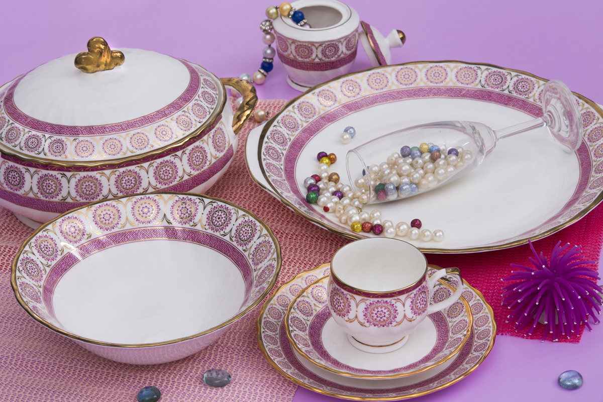 Dinner Set Fine Bone China Kareena Shape